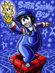 .:Commission:. Super Shawny Boy
