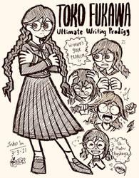 Toko Fukawa Doodles