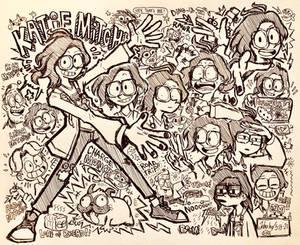 Katie Mitchell Doodles