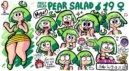 Fruit Salad - Pear Salad