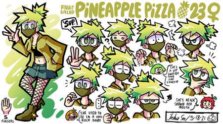 Fruit Salad - Pineapple Pizza