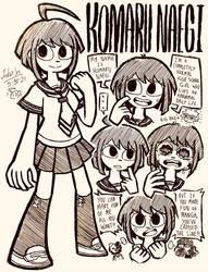 Komaru Naegi Doodles