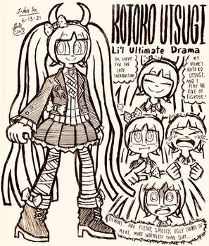 Kotoko Utsugi Doodles