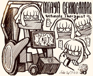 Miaya Gekkogahara Doodles