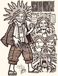 Yasuhiro Hagakure Doodles