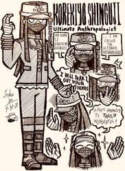 Korekiyo Shinguji Doodles