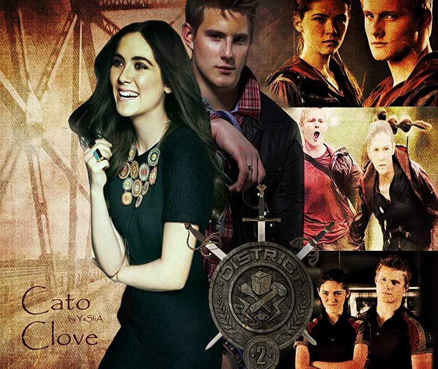 Cato and Clove - District 2 by YaShA94 on DeviantArt