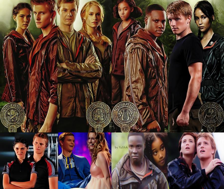 Tributes of Hunger Games by YaShA94 on DeviantArt