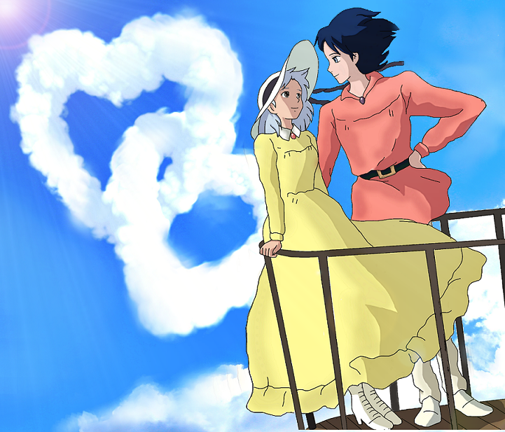 Howl and Sophie by Yuberi on DeviantArt