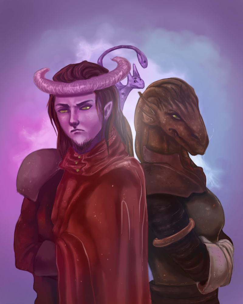 Kredor and Tavna by AutomataTai