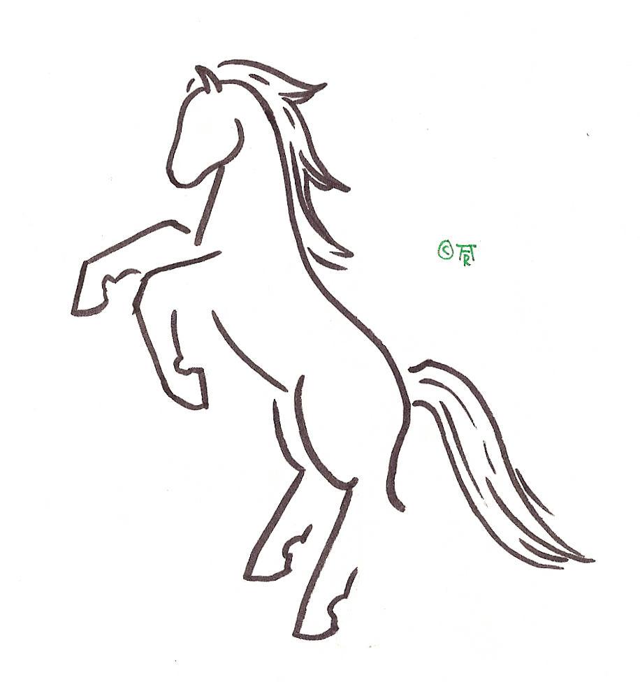 Simple horse design