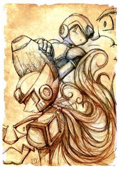 X / Zero (Rockman X Saga)