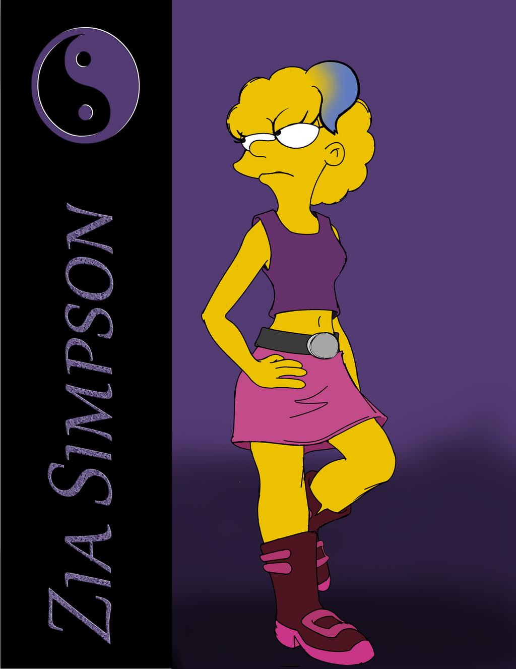 Tribute: Zia Simpson by XaviertheHedgehog66