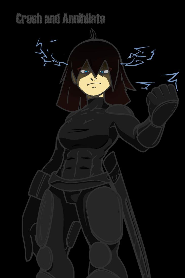 Human Shun: Crush and Annihilate by XaviertheHedgehog66