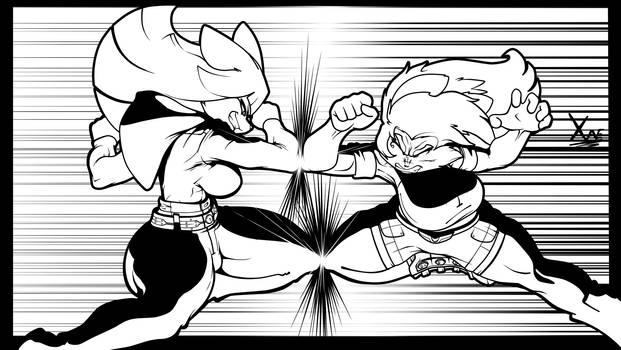 Kyoka Yoshitomi -Shun- vs. Dirce Zahorchak!