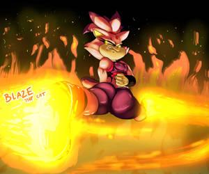 Blaze is FIRE!