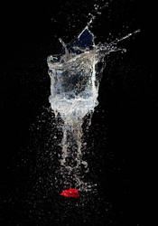 Exploding Glass by JudiLiosatos
