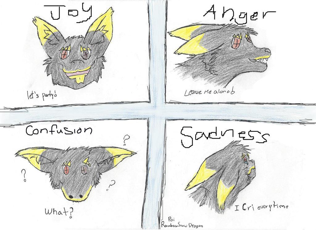 Emotions by RainbowSnowDragon