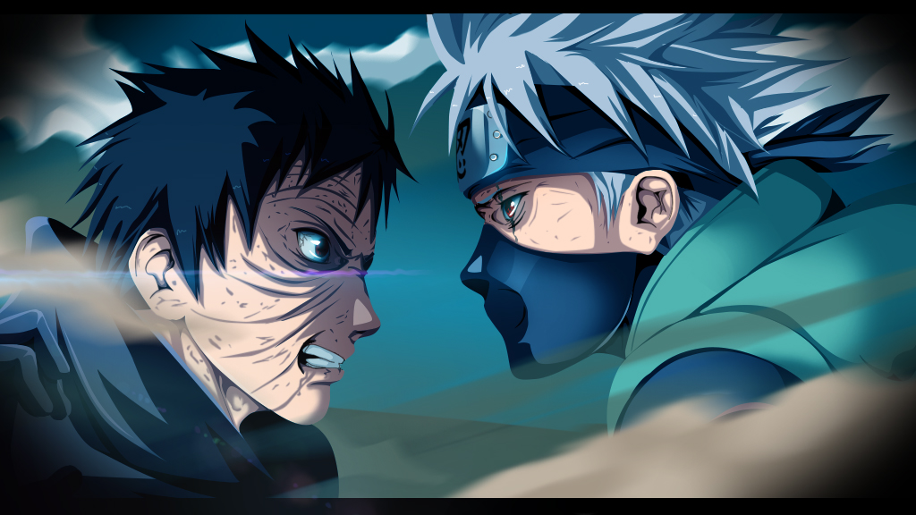 Kakashi vs Obito by ZIUTTmen