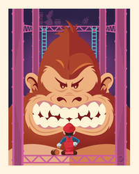 Donkey Kong by Weidel
