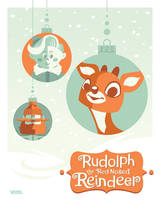Rudolph the Red Nosed Reindeer by Weidel