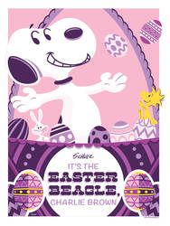 It's The Easter Beagle, Charlie Brown. Variant by Weidel