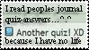 Journal Quiz Stamp by ShilaDaLioness