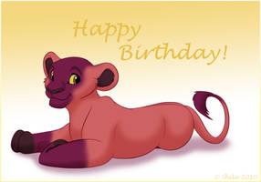 Happy early birthday Unisan :D by LittleHybridShila