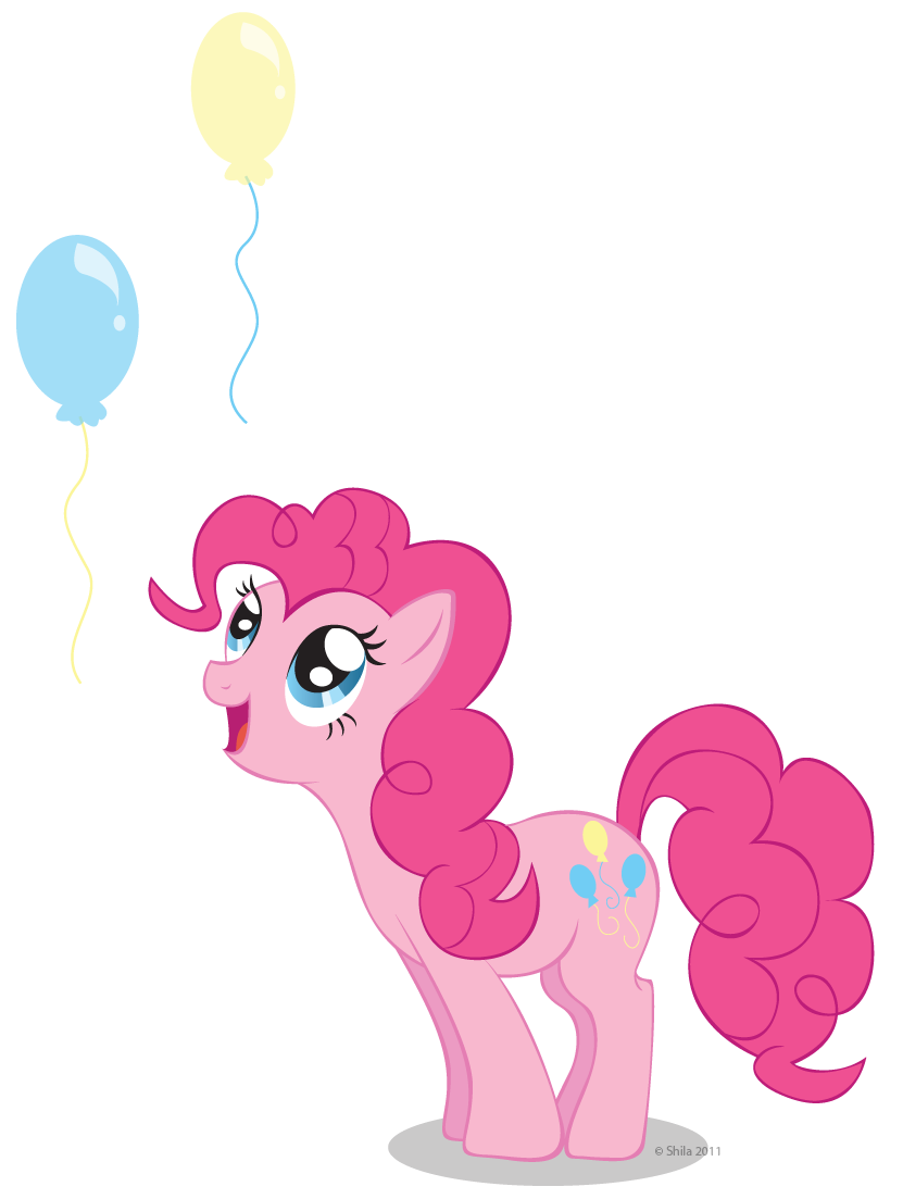 Pinkie's balloons by ShilaDaLioness