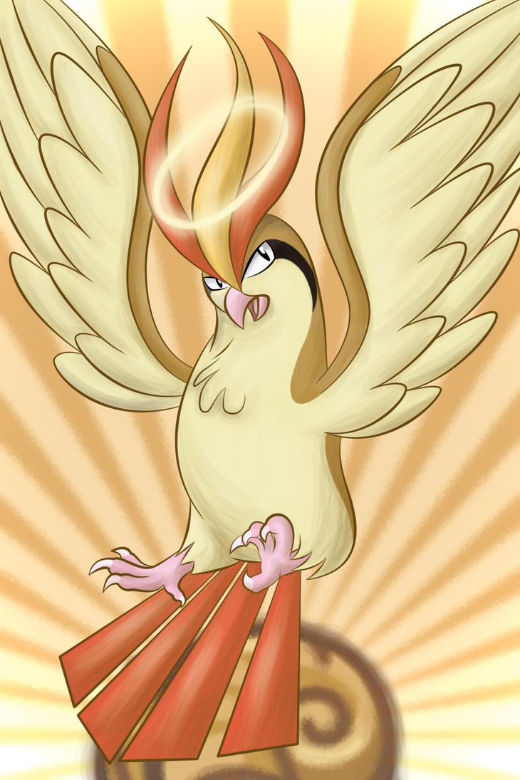 Bird Jesus - TTP by ShilaDaLioness
