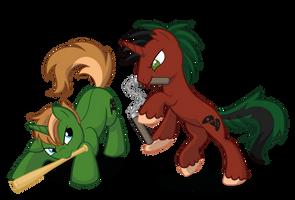 Commission: VOLDSOMwalker by LittleHybridShila