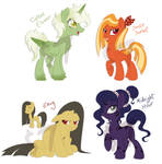 Pony adopts [OPEN] [DISCOUNTED] by LittleHybridShila