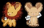 Chibi: Simba and Nala