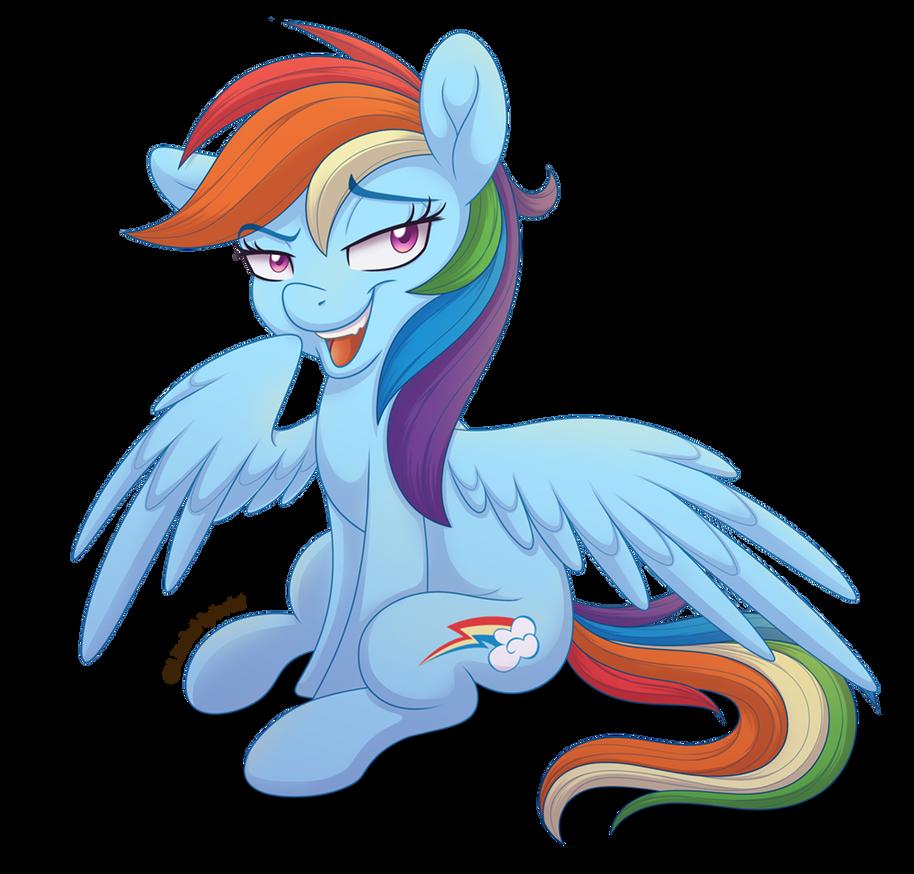 Smug Rainbow Dash