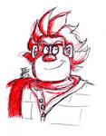 Ralphy Pen Sketch