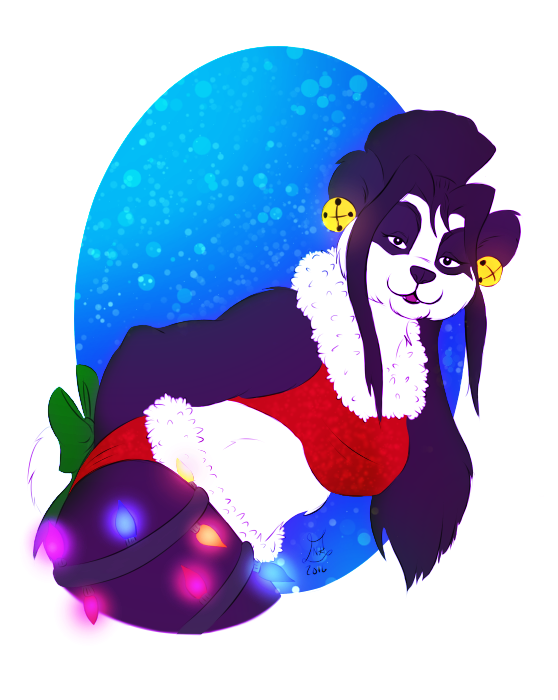 Panda with frills added by nighte-studios