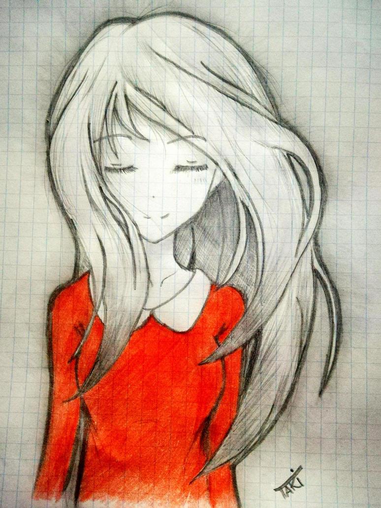 red sweater by takiGracjan