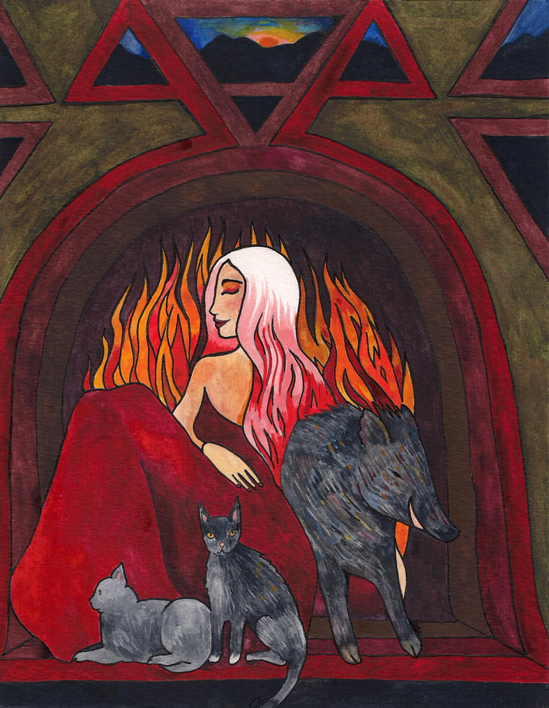 Freyja at Midwinter by TaraCochrane