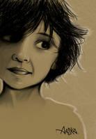 AASKA-dessin-portrait by AASKA-CREA