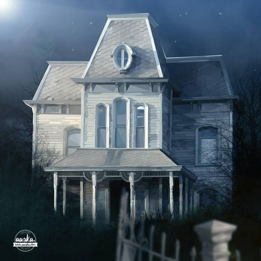 hauntedhouse by AASKA-CREA