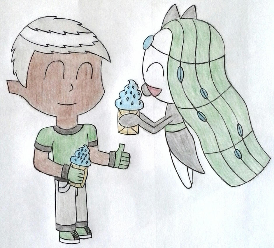 [DCM Task] Gloves And Meloetta Casteliacones by OscarK9