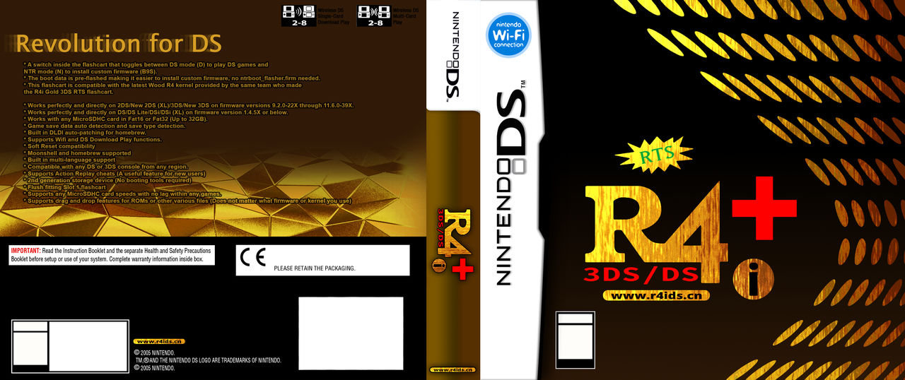 R4i Gold 3DS Plus custom box art by TheSkeletonSK on DeviantArt