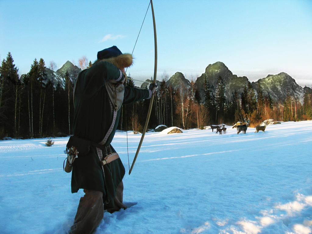 Viking hunter by egilsterkr on deviantart for Bow fishing games