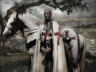 Protector of the Christian pilgrims in Jerusalem by EgilSterkr