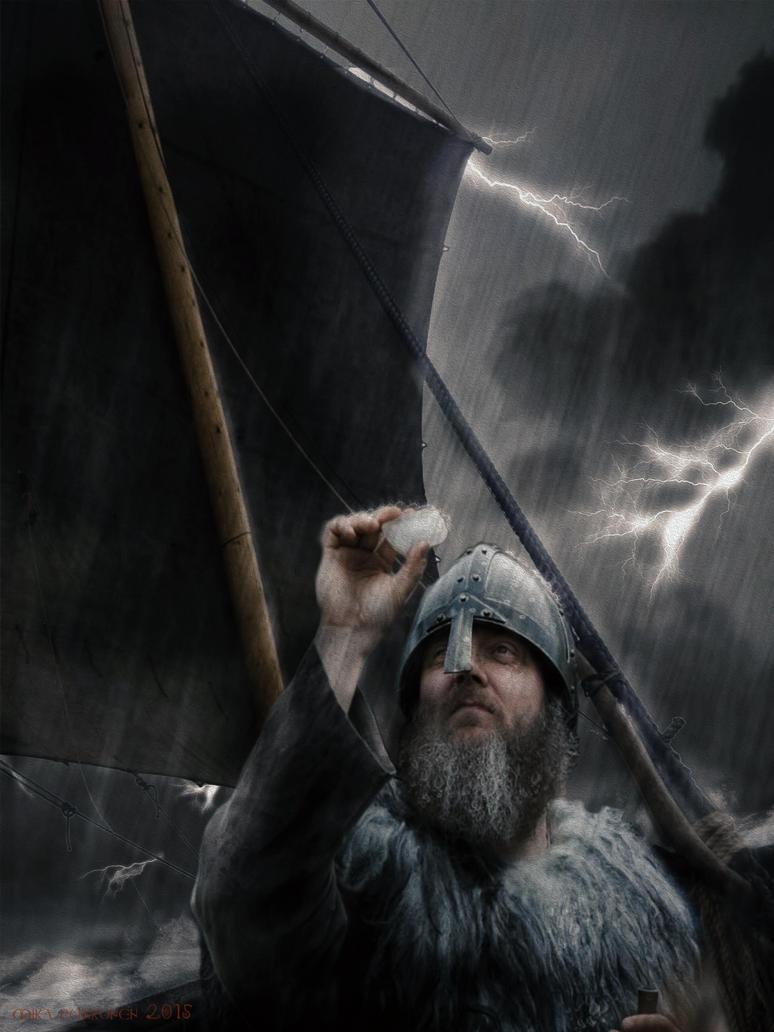Helgi In A Storm by EgilSterkr
