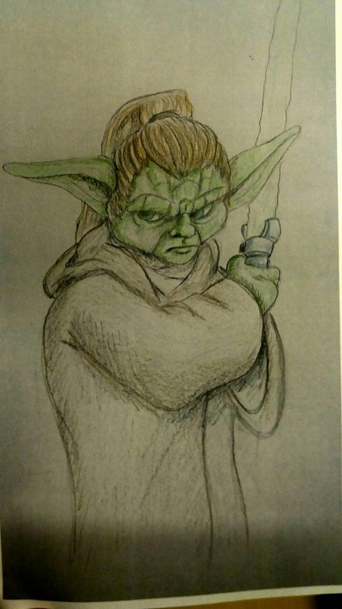 Yoda  by EgilSterkr