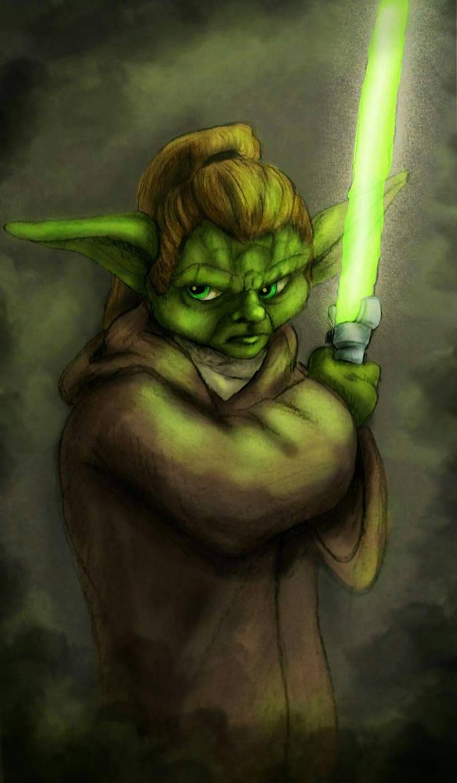Yoda dgt by EgilSterkr