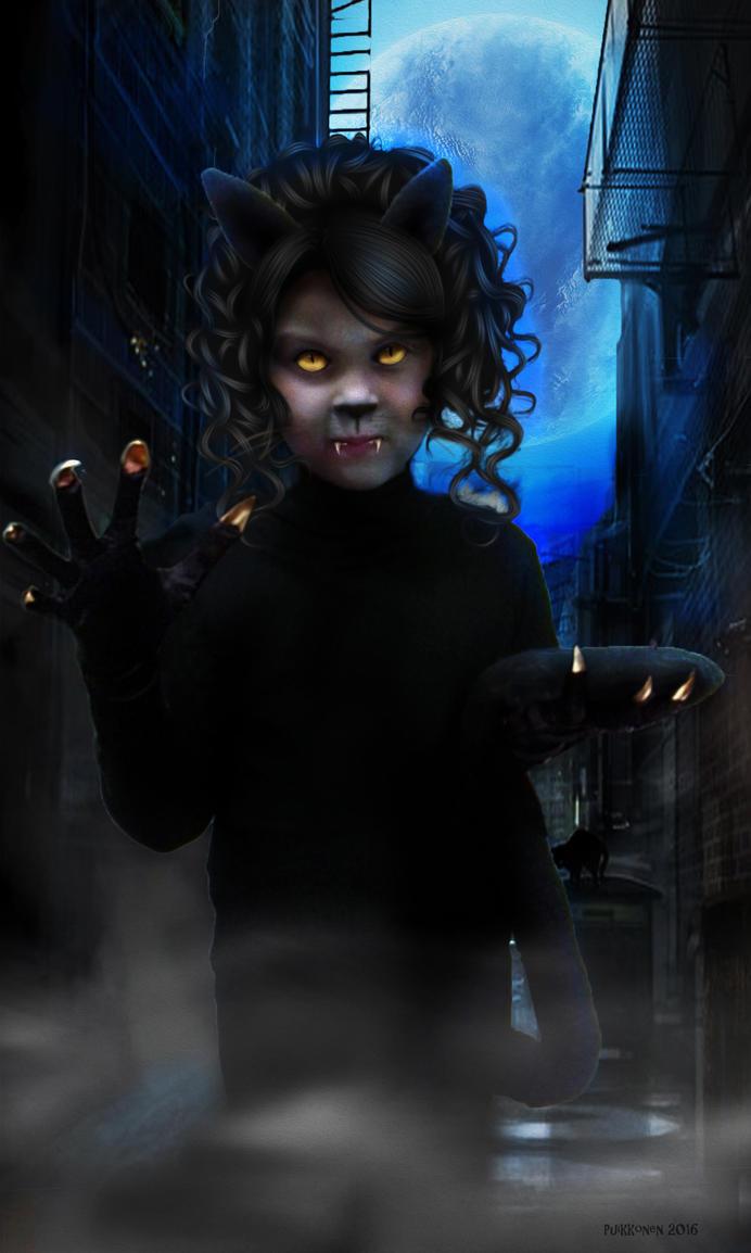 Catgirl by EgilSterkr