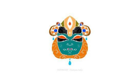 Kathakali Mask Preview by kuhios