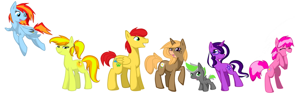 mlp colts meet mares tail